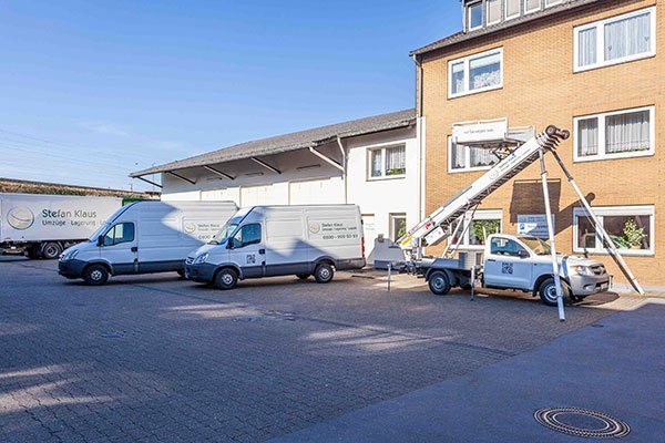 Transporte von EDV und Server Geräten von Umzüge Klaus in Düsseldorf.